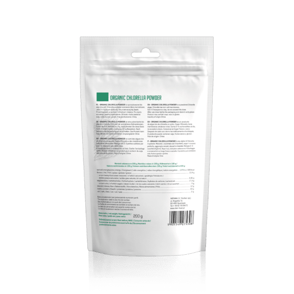 Bio-Chlorella-Algen