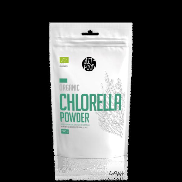 Bio-Chlorella-Pulver