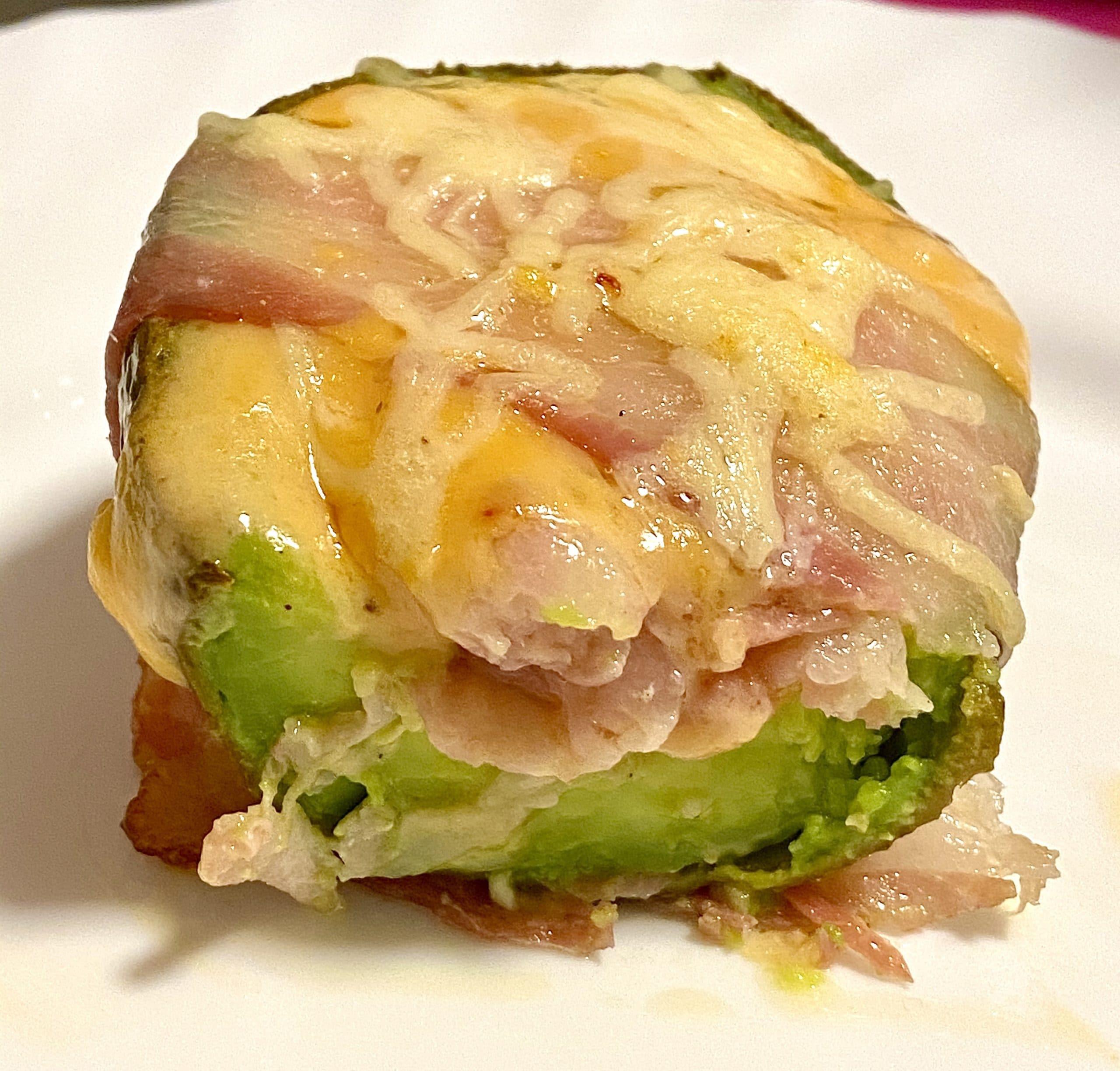 Überbackene Avocados