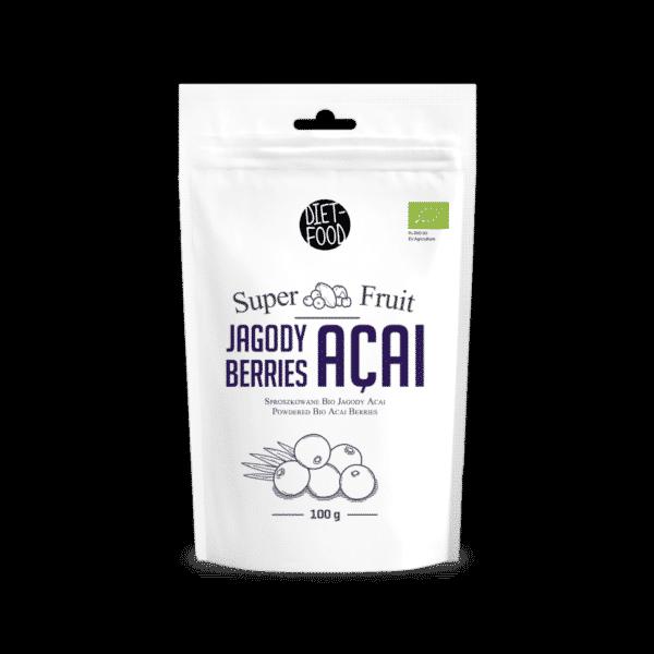 Acai-Beeren superfood. Was ist die Acai-Beere und wo kommt sie vor
