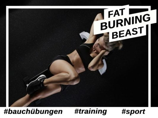 Bauchübungen-Sport