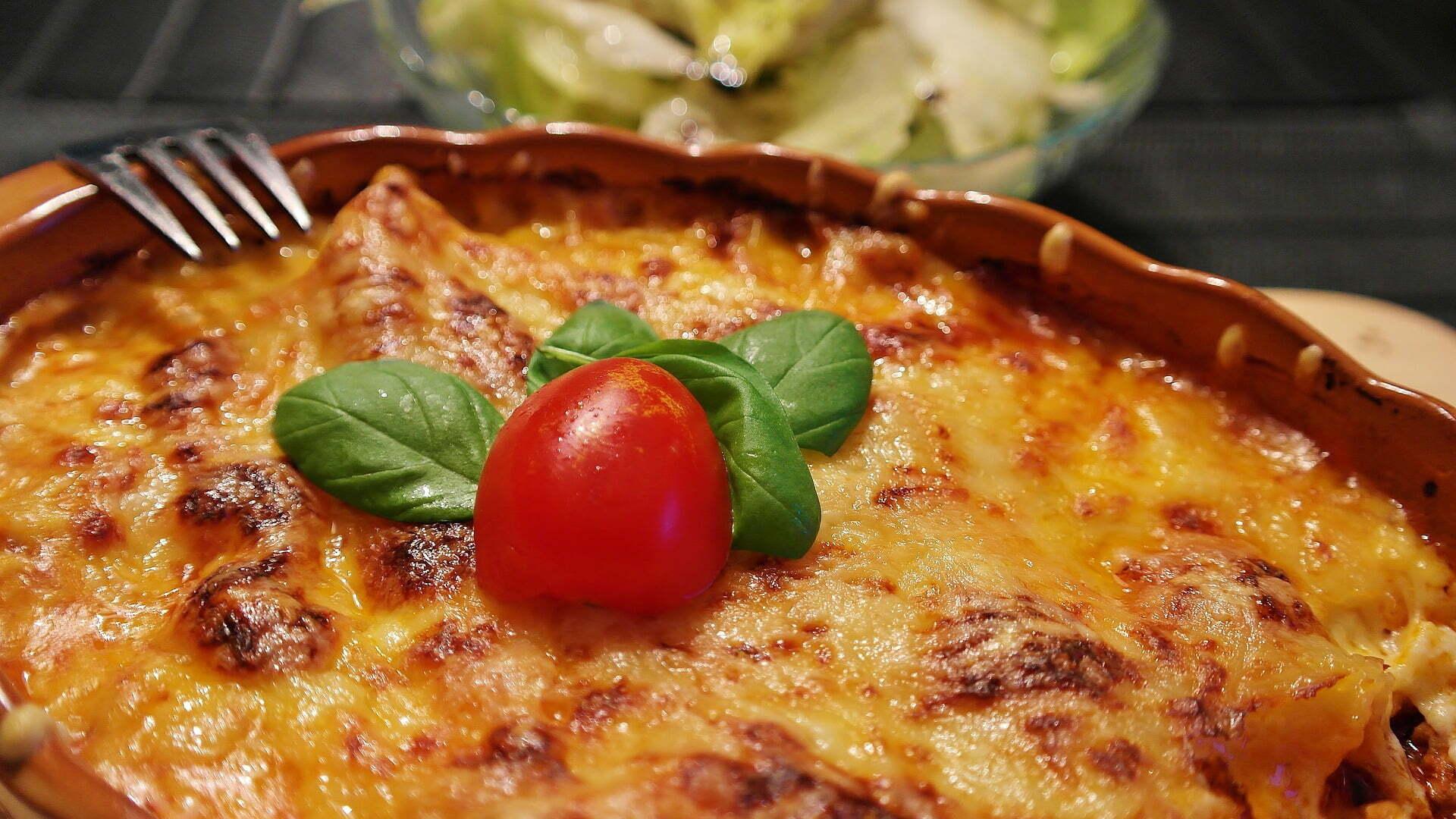 Zucchini-Hack-Lasagne