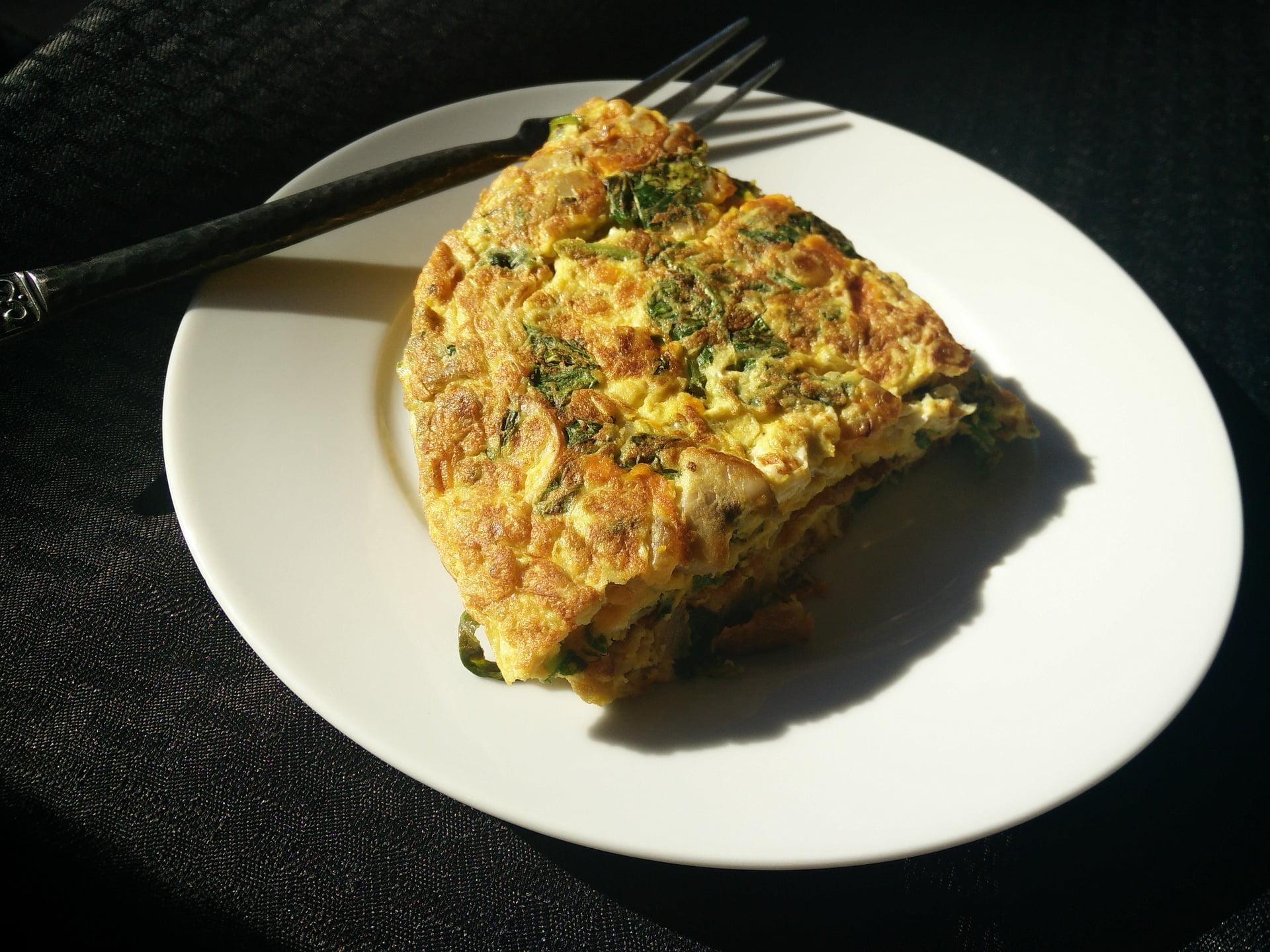 Omelett mit Avocado oder Guacamole