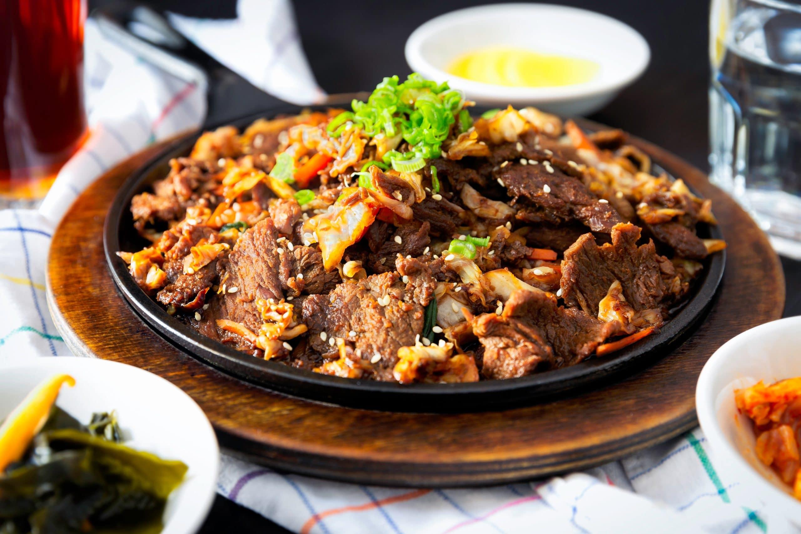 Asiatische Rindfleisch-Gemüse-Pfanne