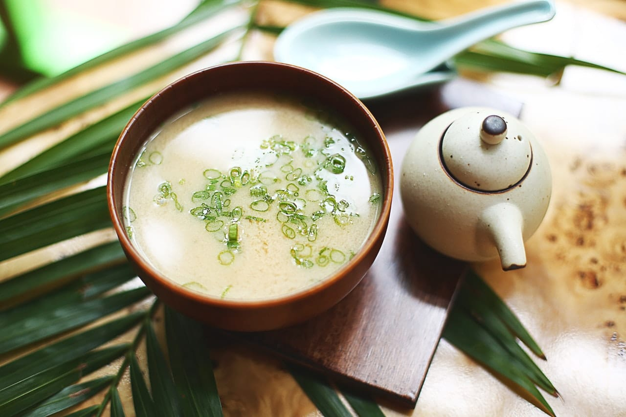 Kokosmilch-Lauch-Suppe