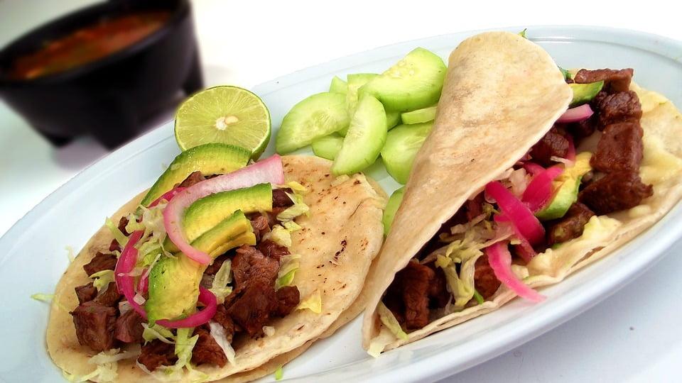 Tacos mit Rindfleisch