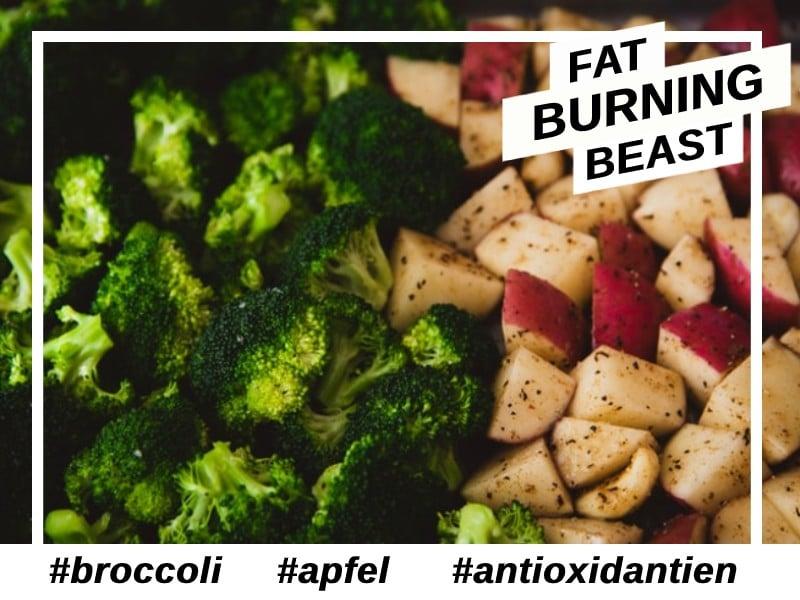 Antioxidantien-Aufnahme