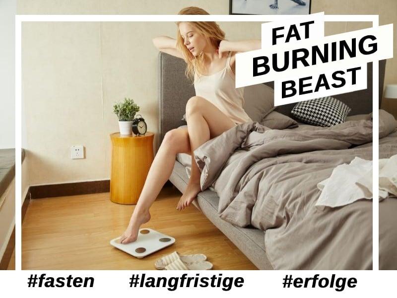 Mit Fasten langfristig Gewicht verlieren.