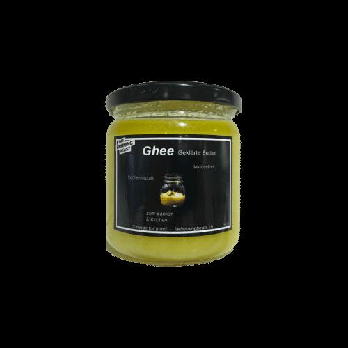 Schweizer Ghee Butter - geklärt schweizer Milch