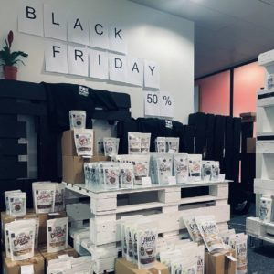 Black Friday 50 %