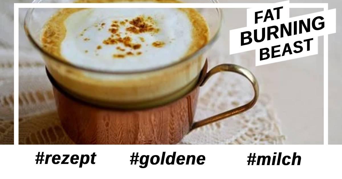 Rezept Golden Milk - goldene Milch