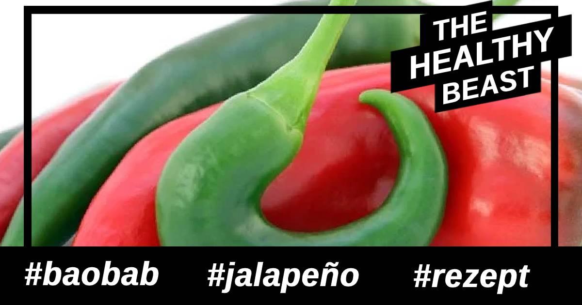 Rezept für Jalapeño Sommersalat mit Baobab-Pulver