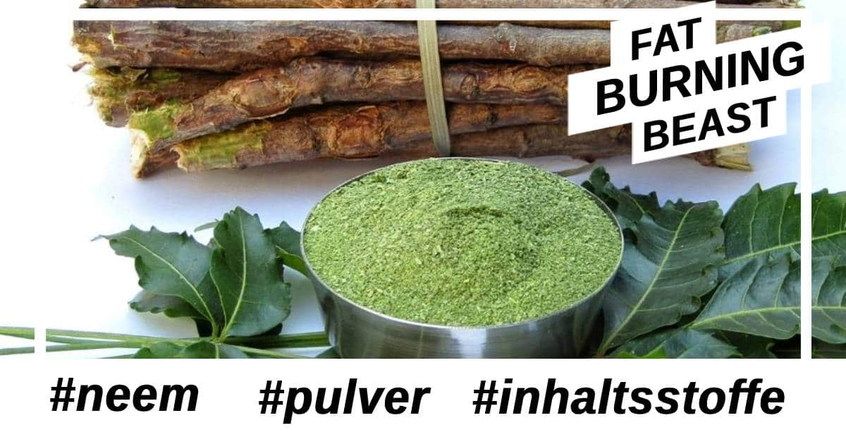 Was sind die Inhaltsstoffe und gibt es Nebenwirkungen Neem Pulver?
