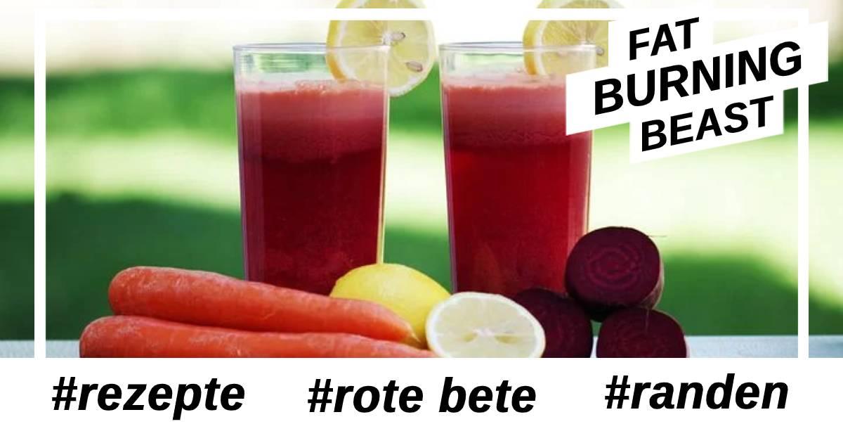 Rezept Rote Bete Shake