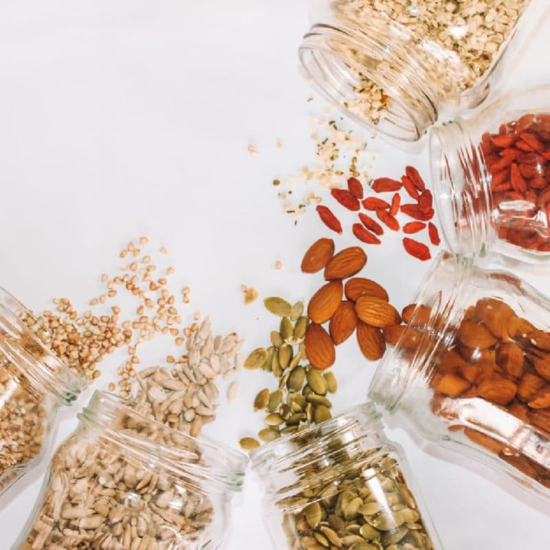 Nüsse haben gesunde Fette und fördern die GABA Produktion